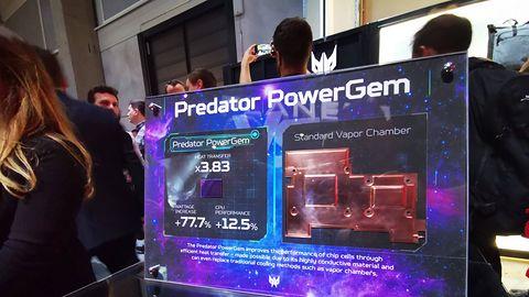 IFA 2019: Acer przedstawia PowerGem. Podniesie wydajność CPU o 12 proc.