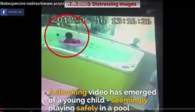Też myślisz, że nadmuchiwane kółka do pływania dla dzieci są w 100 proc. bezpieczne? (WIDEO)