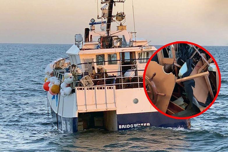 Dramat na Morzu Północnym. Rybacy łowili kraby, ledwo uszli z życiem