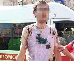 Ukraina. Koszmar podczas defilady wojskowej w Kijowie