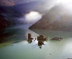 Średniowieczna wioska od dziesięcioleci jest pod wodą. Może się ponownie wynurzyć