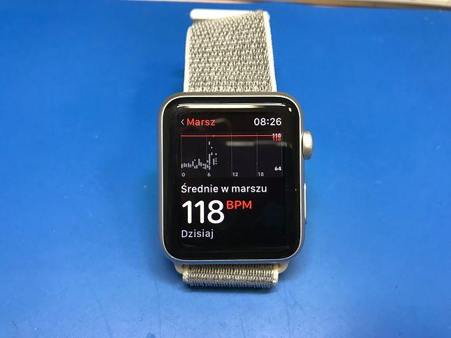 Podobno czujnik tętna zamontowany w Apple Watch to jedno z lepszych urządzeń na rynku.