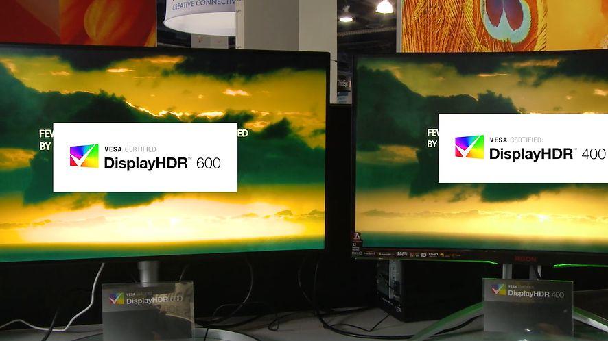 VESA ogłosiła standard DisplayHDR w wersji 1.1 (Foto: YouTube @ VESA Display)
