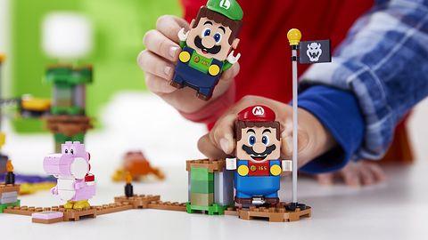 Lego Super Mario staje się grą dla dwóch osób. Luigi dołącza do zabawy