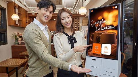 Samsung Kiosk pozwoli bezpiecznie złożyć zamówienie