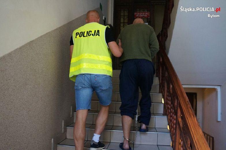 Śląskie. Nożownik aresztowany za usiłowanie zabójstwa. Poszło o maseczkę ochronną