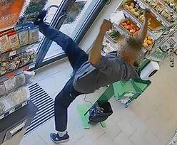 Żabka. Groził nożem ekspedientce. Kilka godzin wcześniej okradł sklep