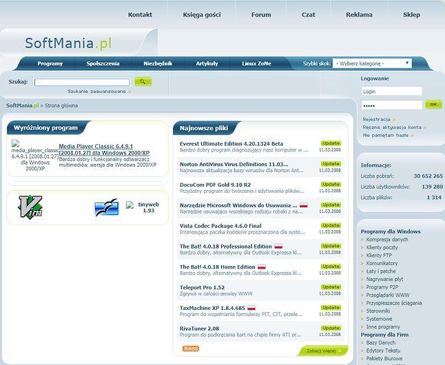 SoftMania.pl w 2008