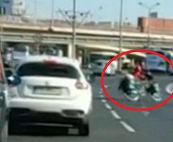 Głupota rowerzystów w Szczecinie. Zobacz nagranie ku przestrodze