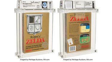 Kartridż z Legends of Zelda na NES za pół miliona. Możliwe, że pobije rekord