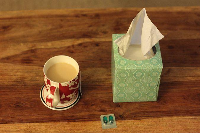 Nietypowe metody na przeziębienie