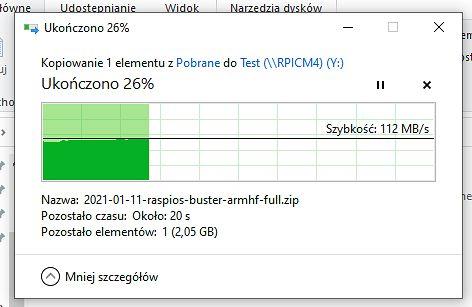 kopiowanie w eksploratorze Windows