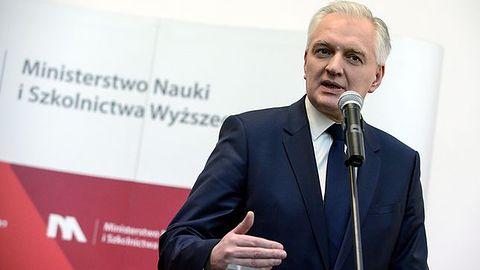 Jarosław Gowin ministrem ds. rozwoju, pracy i technologii