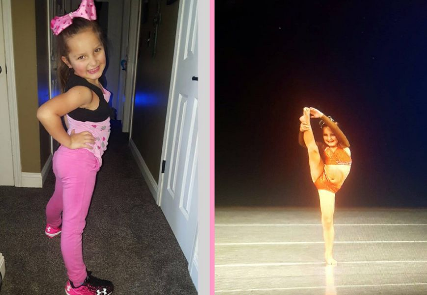 Tessa Puma - 6-letnia tancerka
