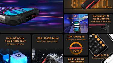 Doogee S97 Pro zostanie wprowadzony na rynek z wbudowanym dalmierzem laserowym