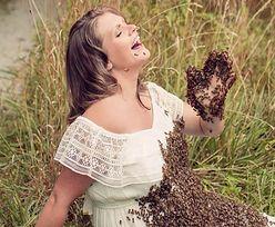 Zrobiła zdjęcie z pszczołami, będąc w ciąży. Chwile później spotkała ją tragedia