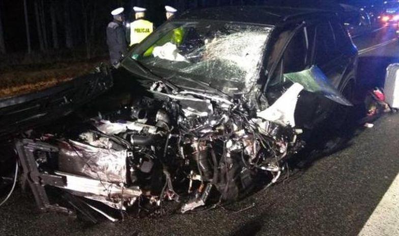Tragiczny wypadek na Podlasiu. Nie żyje małżeństwo. Litwin spowodował tragedię