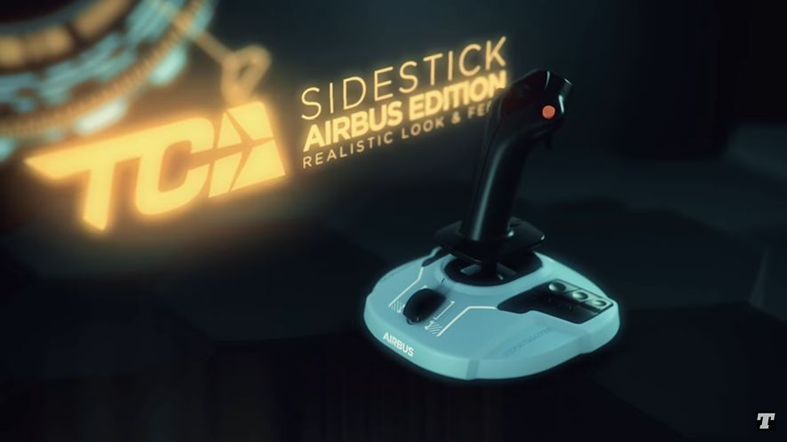 Thrustmaster Sidestick Airbus Edition (Youtube.com)