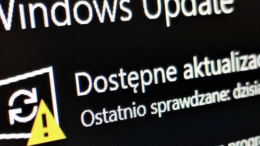Windows 10 ma problem z aktualizacją, fot. Oskar Ziomek