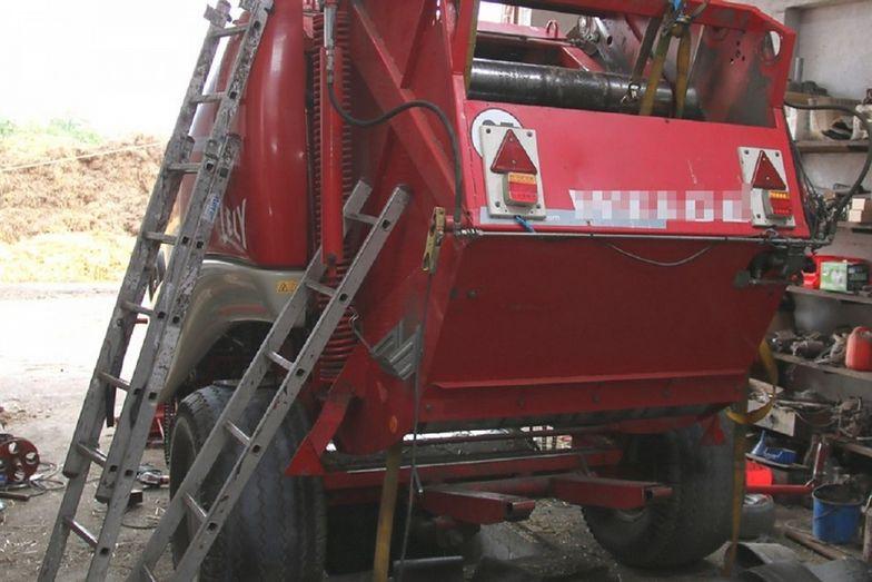 Tragedia we wsi Dobre. Straszna śmierć rolnika podczas prac polowych