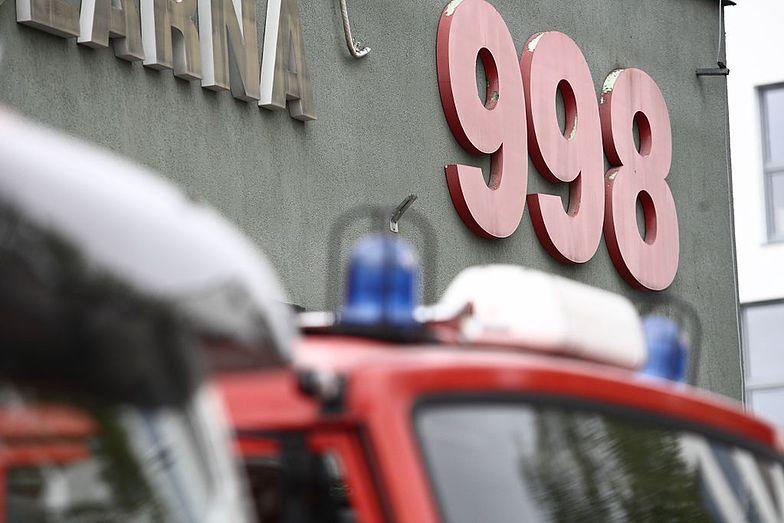 W niedzielę strażacy walczyli z pożarem w Nowinach