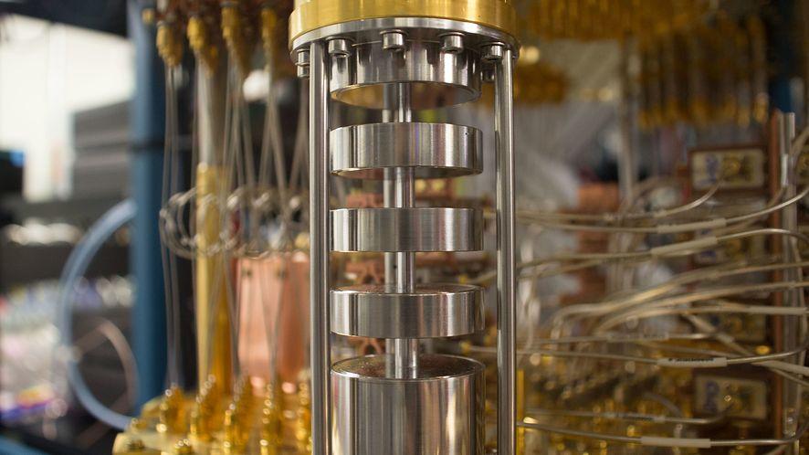 Komora komputera IBM Q (IBM Research Zurich)