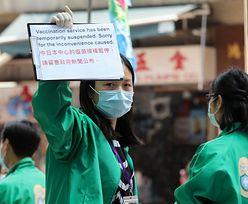 Hongkong zakazał szczepionki od Pfizera. W regionie zawisły komunikaty