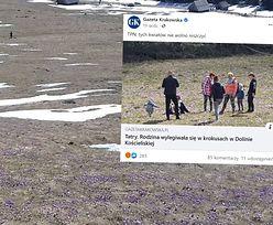 """Apele nie pomogły. Zdjęcie z Tatr. """"Smutny widok"""""""