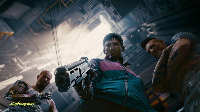 Główny bohater to V - awanturnik z futurystycznego Night City