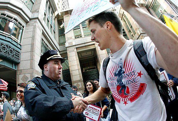Protest w Bostonie