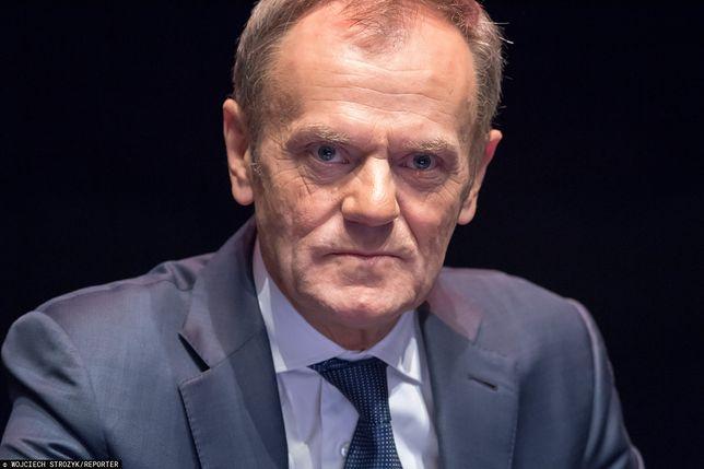 Donald Tusk został skrytykowany przez Beatę Mazurek za swój najnowszy wpis