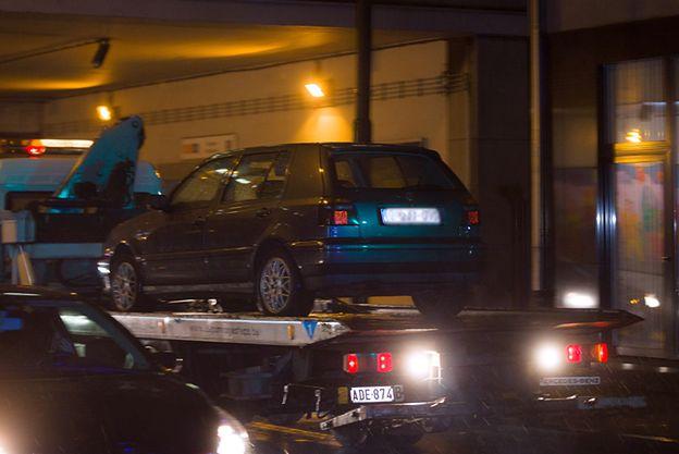 Tak wyglądały zatrzymania w Brukseli w związku z atakami w Paryżu