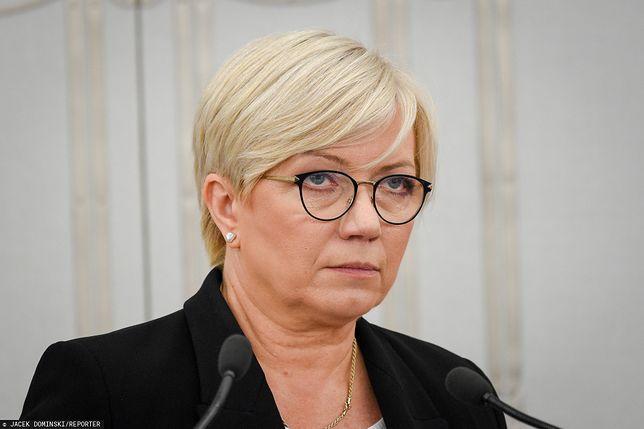 Julia Przyłębska przygotowała pismo dla Tomasza Grodzkiego