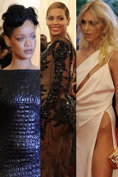 Rihanna, Beyonce, Anja Rubik