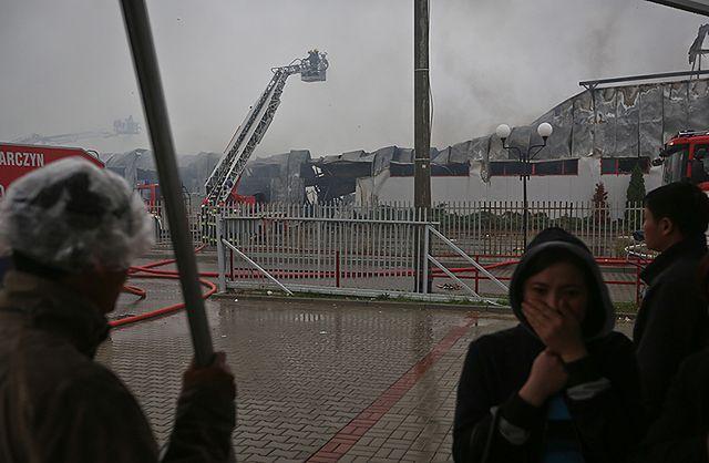 Wielki pożar pod Warszawą - zobacz zdjęcia