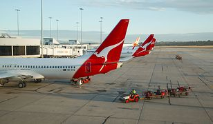 Quantas to największe linie lotnicze w Australii