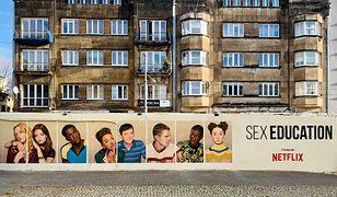 Mural można zobaczyć przy ul. Piotrkowskiej