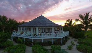 Amerykańska tenisistka spędza romantyczne chwile w kurorcie Kamalame Cay na Bahamach
