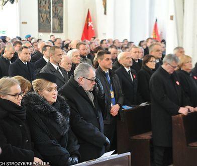 Prezydent Andrzej Duda w Bazylice Mariackiej.