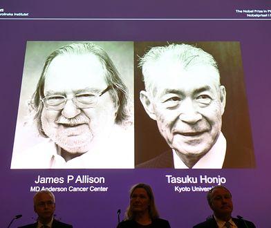 Nagrodę Nobla z medycyny i fizjologii otrzymali James P. Allison i Tasuku Honjo