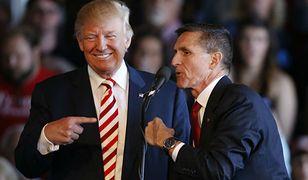 Donald Trump i gen. Michael Flynn