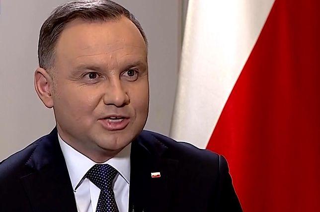 Andrzej Duda skomentował sytuację w radiowej Trójce.