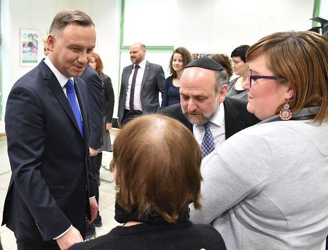 """Para prezydencka w przedszkolu """"Frajda"""""""