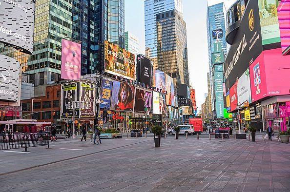 Ponad połowa zakażeń w USA pochodzi z jednego miasta