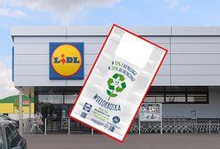 """Lidl stawia na ekologię. Prezentuje """"wielokrotkę"""", torbę w pełni poddającą się recyklingowi"""
