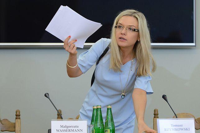 Małgorzata Wassermann ma trzy propozycje dla Donalda Tuska