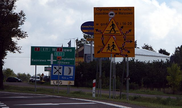 NIK: polskie drogi źle oznakowane