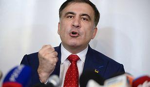 Micheil Saakaszwili w Warszawie