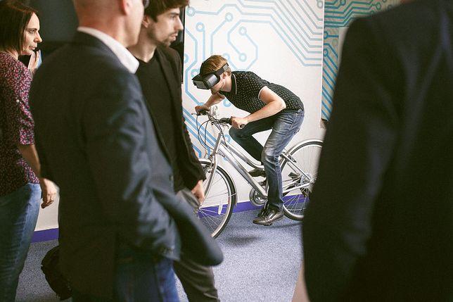 Dzięki Bike2VR przeżyjemy rowerową przejażdżkę, nie ruszając się z domu
