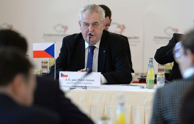 Spór wokół podróży Milosza Zemana do Moskwy